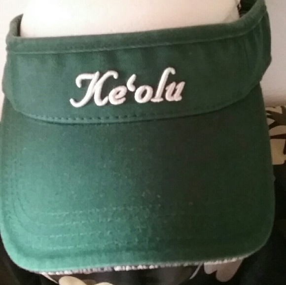 Other - KEOLU VISOR Made Especially 4 HUALALAI RESORT NICE